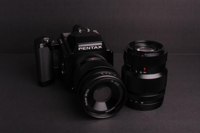 Petzvar 3.8/120 for Pentax 645