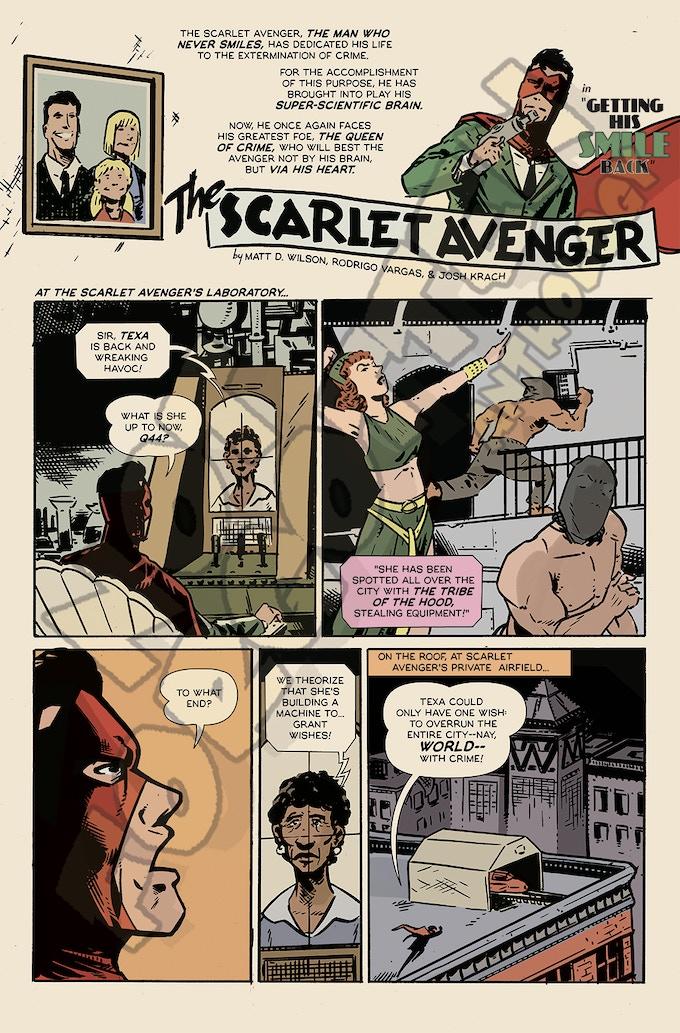 Scarlet Avenger by Matt D. Wilson & Rodrigo Vargas