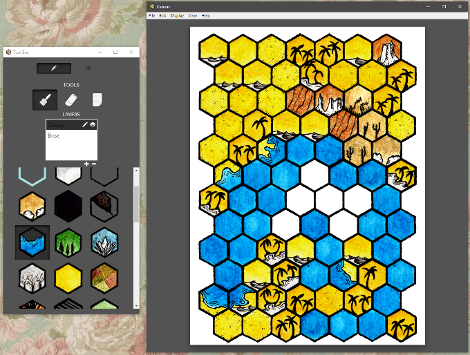 working in hex kit alpha (subject to change)