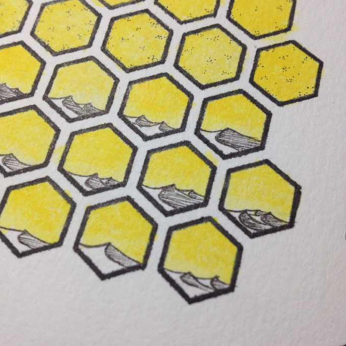 what hex kit tiles look like before they are scanned