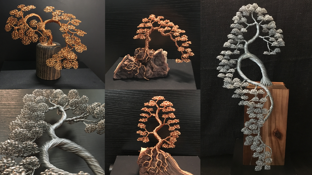 Majestic Wire Tree Sculptures By Andy Elliott project video thumbnail