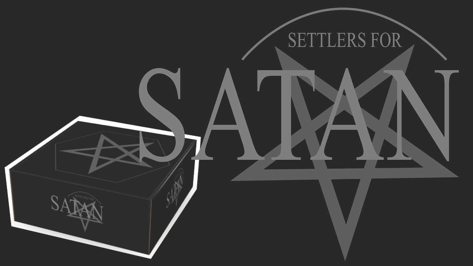 Settle satanic churches and cathedrals for Satan with these stone hexes. Limited Collectors Edition.