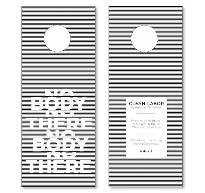 Clean Labor Door Tag