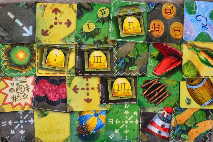Here you can see examples of some of the tiles