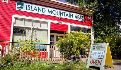 Island Mountain Arts in Wells, BC