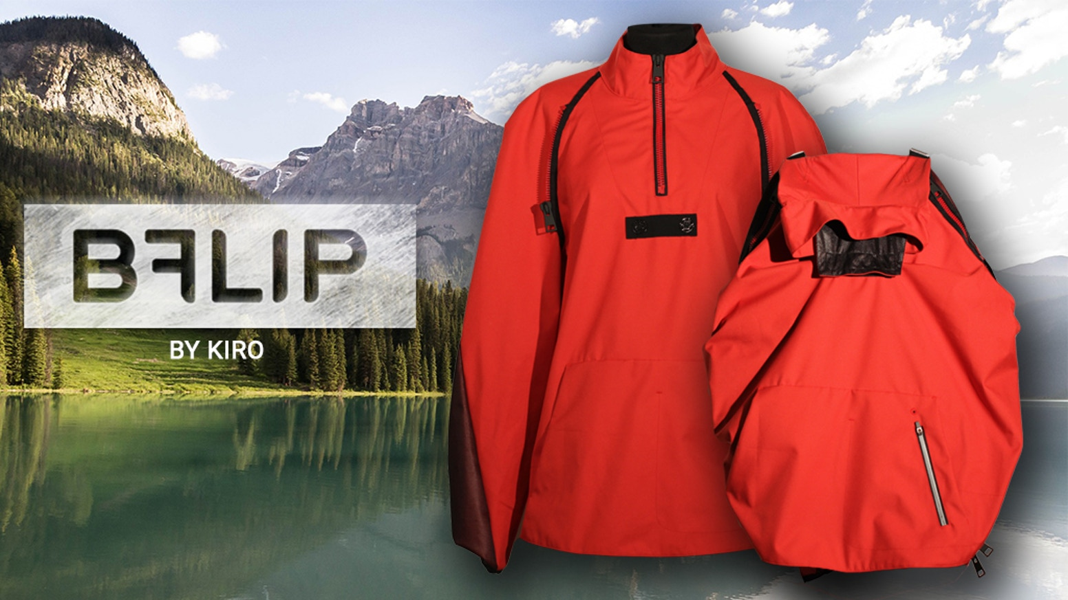 Jacket Backpack Bflip The Made In Italy Jacket That Feels Like A Backpack By