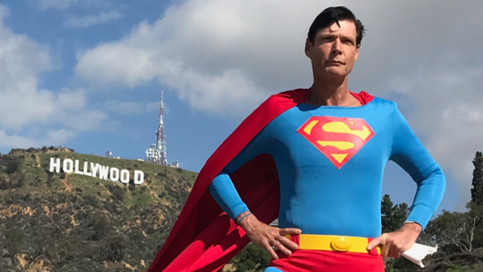 YOU can be part of the true story of Chris Dennis, who has inspired millions as Hollywood Superman.
