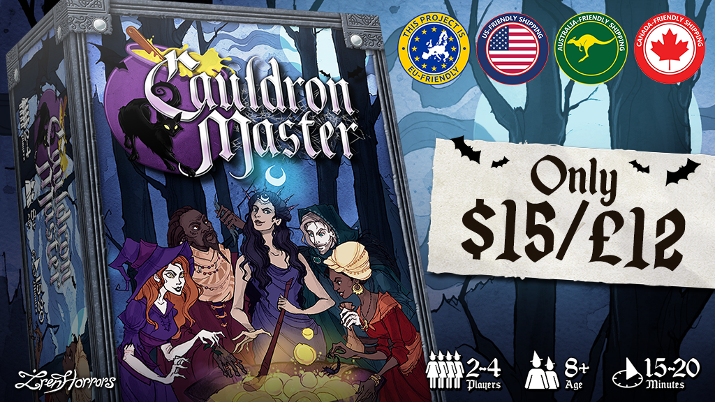 Cauldron Master - A deduction & set collection witch game! project video thumbnail
