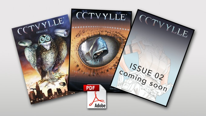 CCTVYLLE comics issues 00, 01, 02 in PDF format