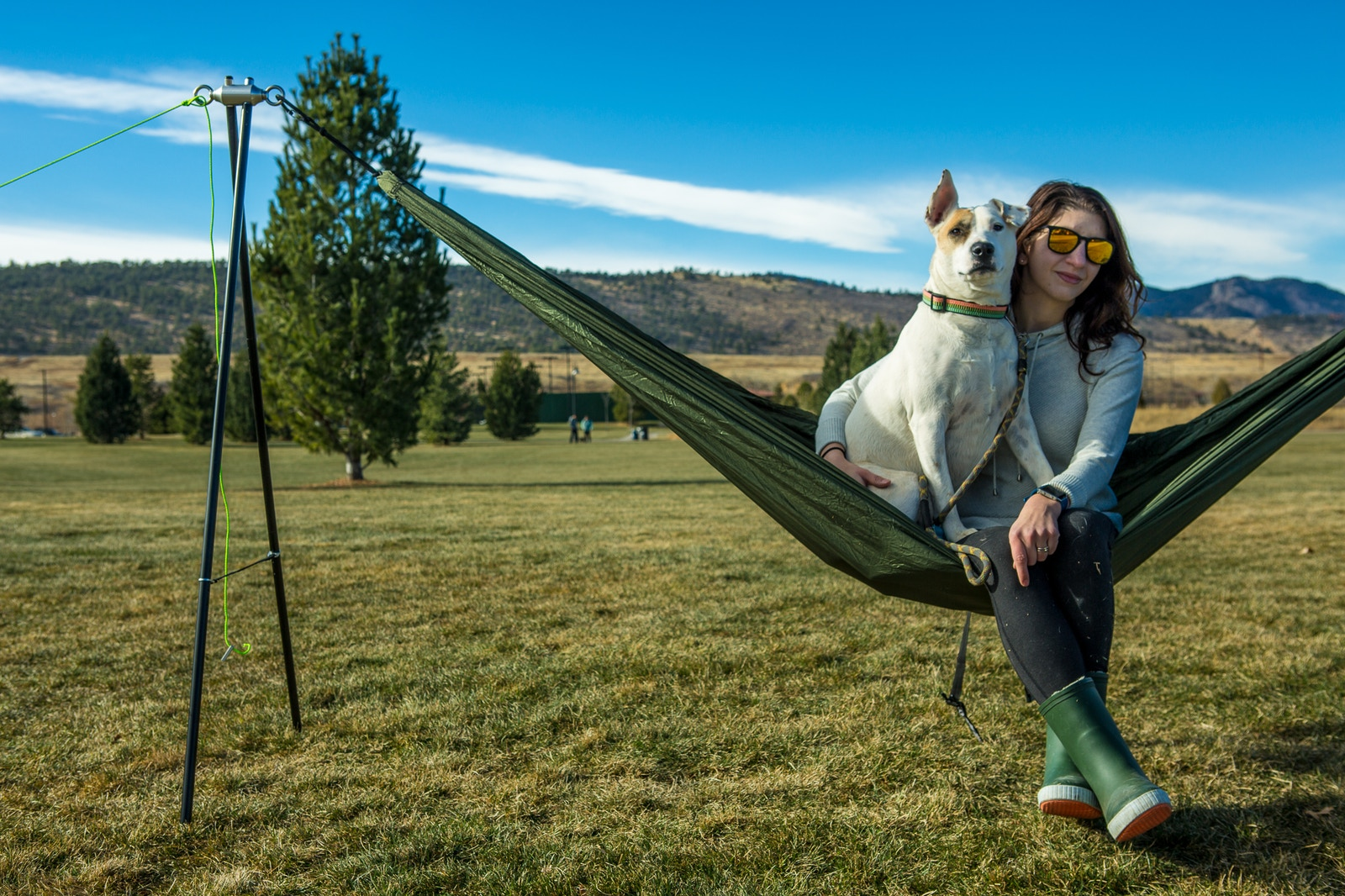 YOBO Hammock Stand - The World's Lightest & Most Portable
