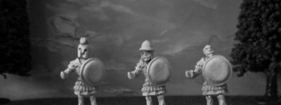 Hoplites with various head options