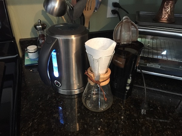 Thrive Coffee & Chemex - a match made in Hudson!