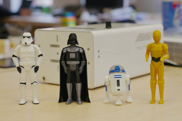Low-Poly Stormtrooper, Darth Vader, R2-D2, C-3PO modeled by FLOWALISTIK.