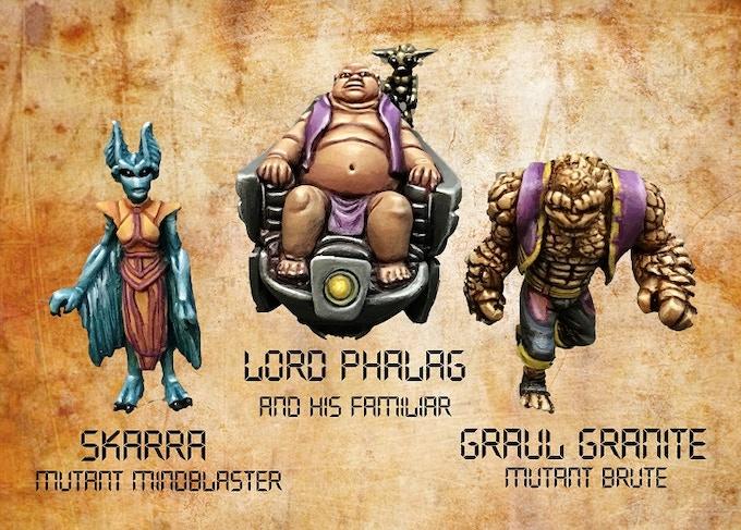Lord Phalag and Minions
