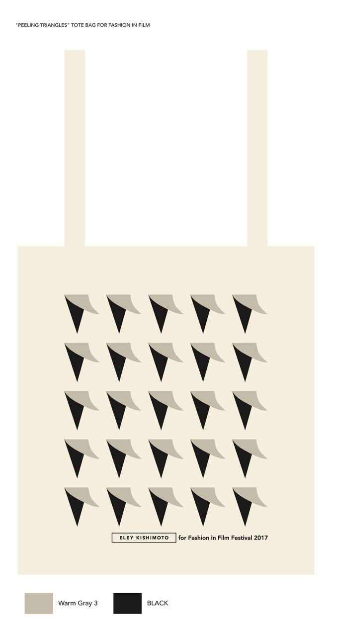 Limited edition of tote bags designed by wonderful duo Eley Kishimoto, exclusively for this year's festival