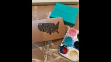 Stamp Greeting Cards, Handmade 5\