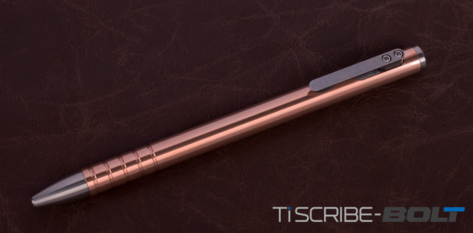 Copper TiScribe Bolt with Titanium Tip Kit