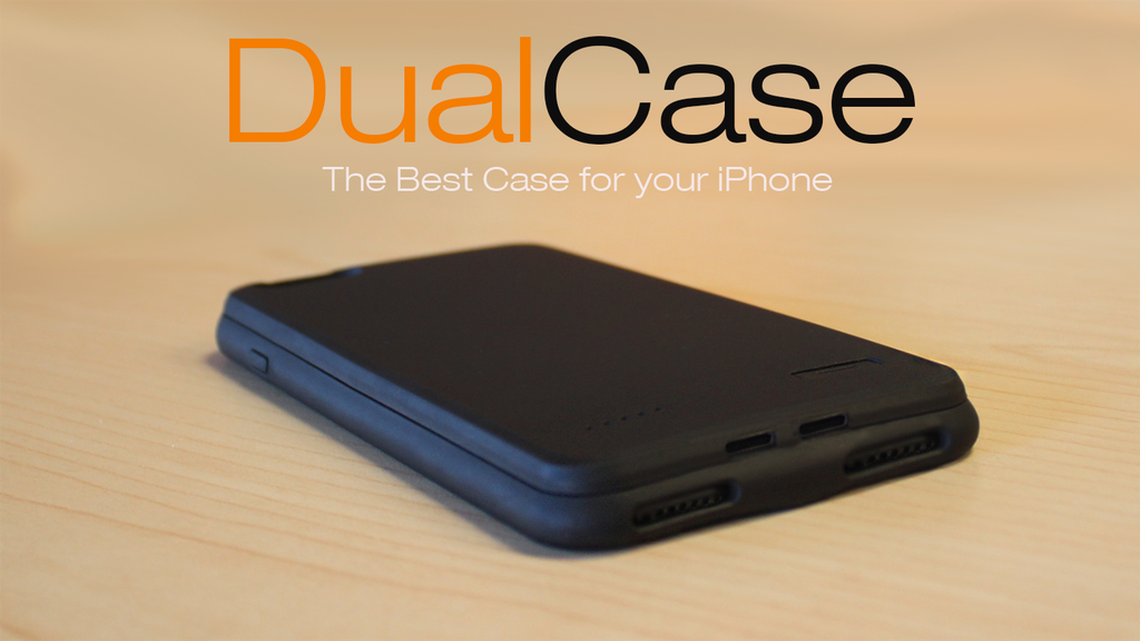 Dual Case for iPhone • Wireless • Battery • Music + Charger project video thumbnail