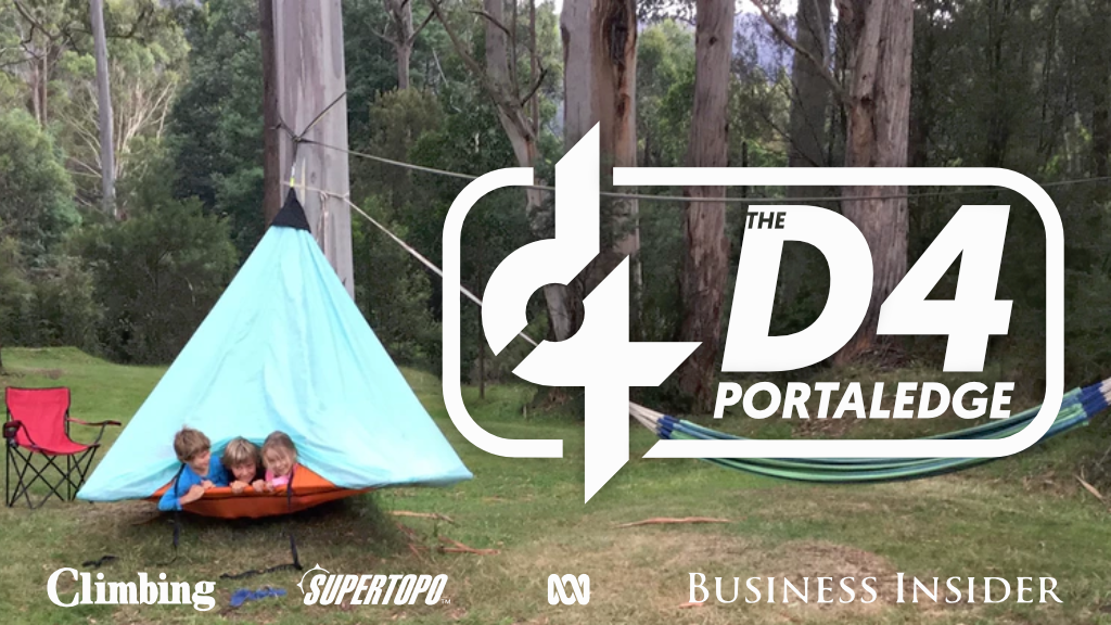 The D4 Portaledge project video thumbnail