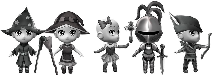 At $60,000 We'll add a range of fantasy-themed parts and outfits to the character creator!