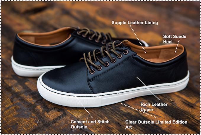 Blake Shoe Details - General