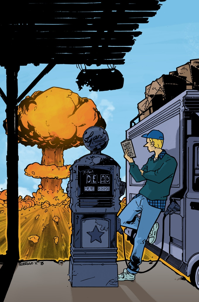 Issue #1 cover by Rodrigo Vargas
