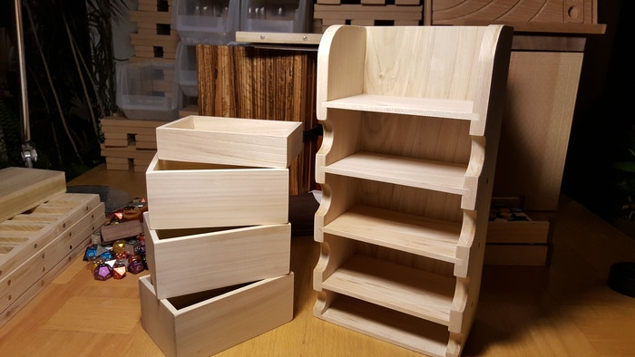 """The top cubby is 2.75"""" x 3.75"""" x 5.75"""" interior dimensions. Big enough for just about anything or things you want to stow there."""