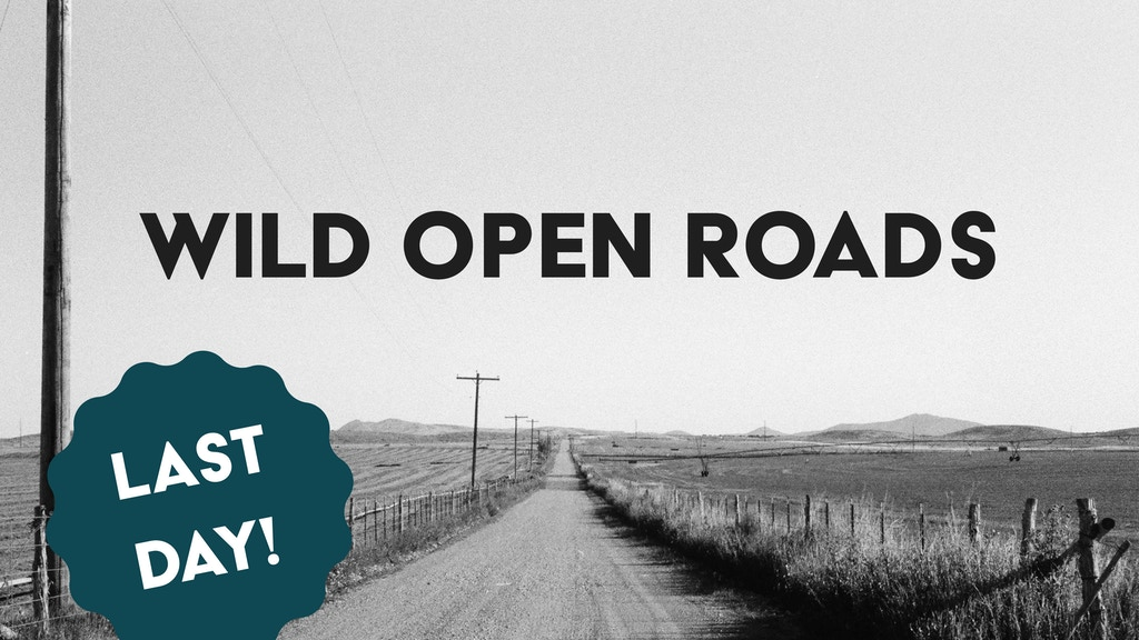 Wild Open Roads: A photographic journey home! project video thumbnail