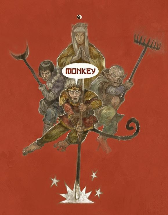 Monkey cover by Jon Hodgson