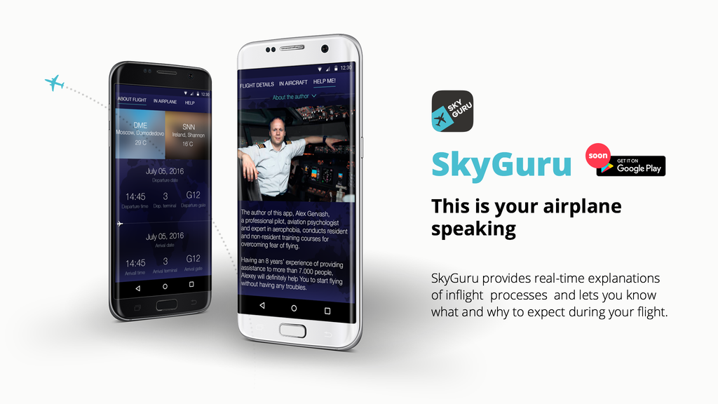 SkyGuru for Android: Real-Time In-Flight Assistance project video thumbnail