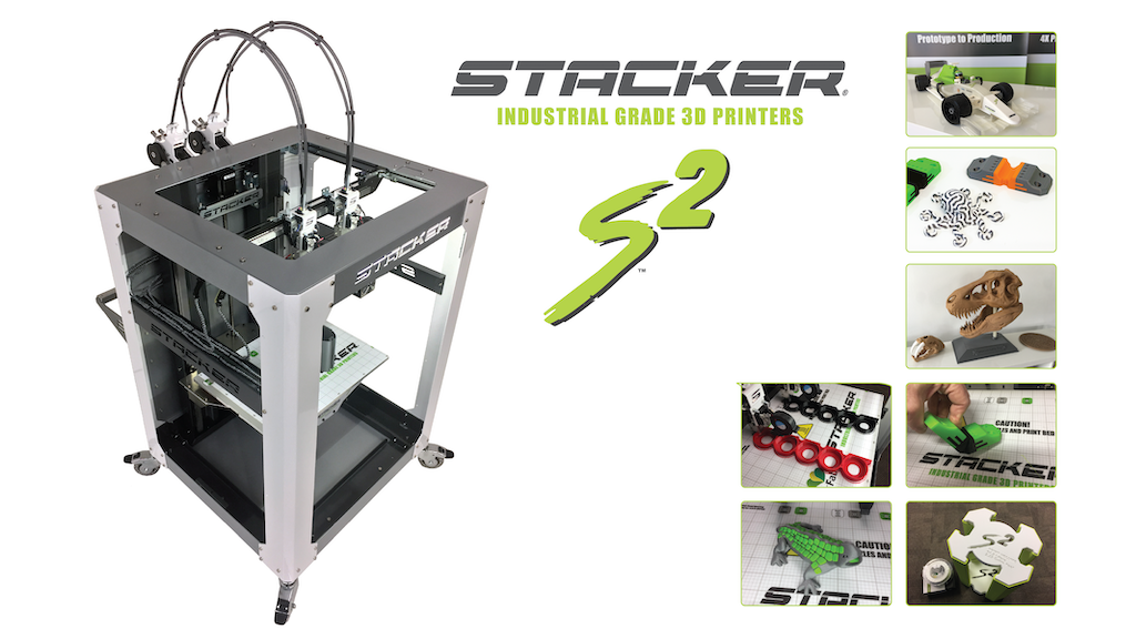 STACKER S2 - Industrial Grade 3D Printer project video thumbnail