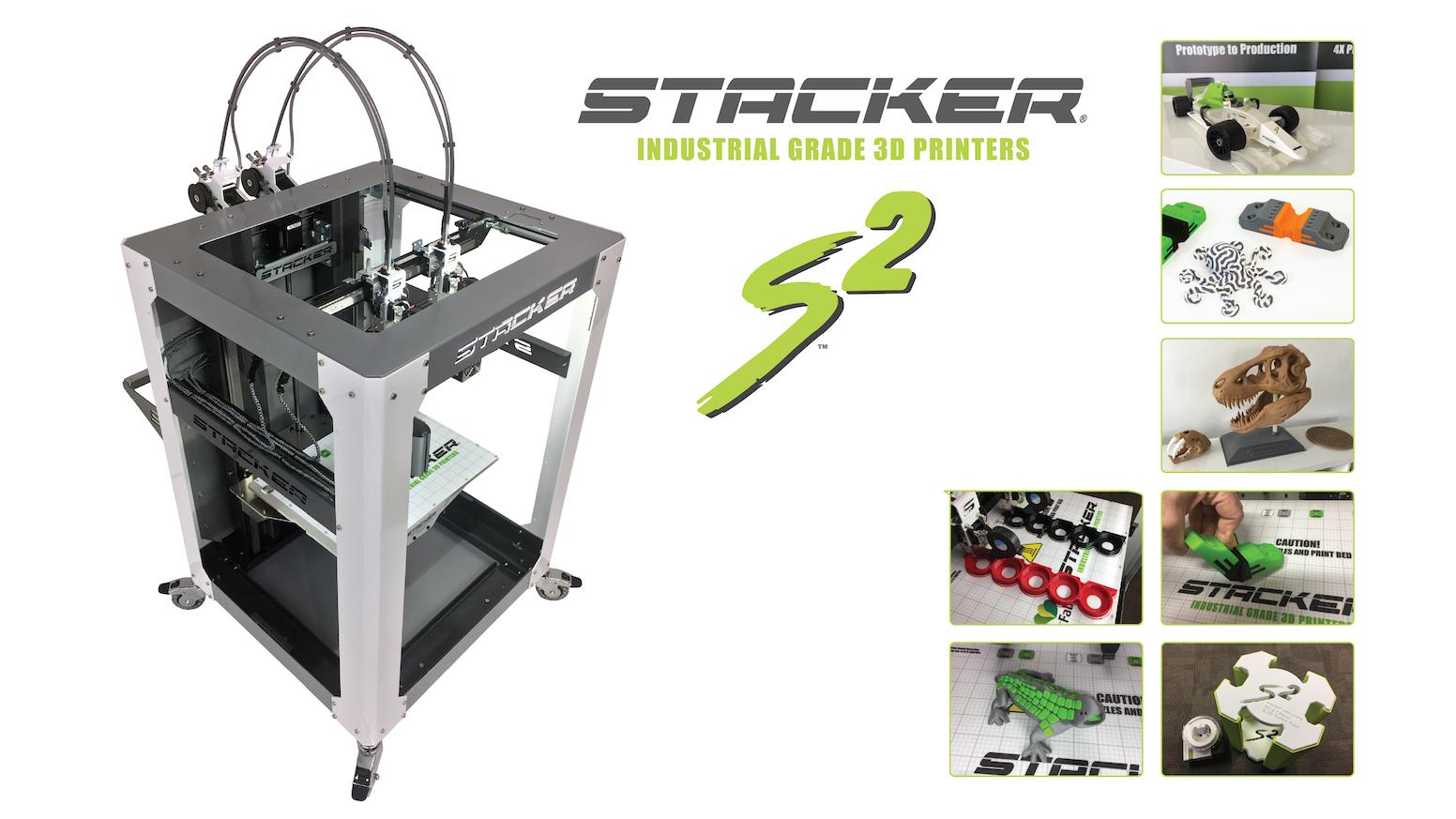 STACKER S2 - Industrial Grade 3D Printer by STACKER, LLC — Kickstarter