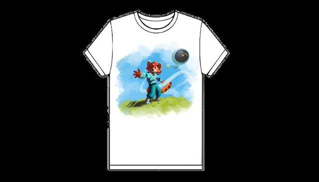 T-shirt, un exemple de modèle (garçon)