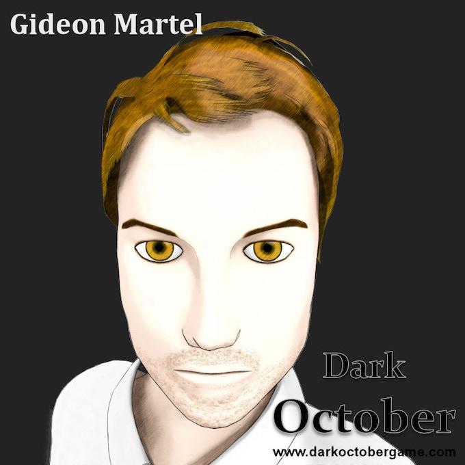Gideon Martel, Master of Sword.