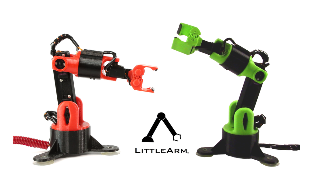 Littlearm big arduino robot arm for makers and education