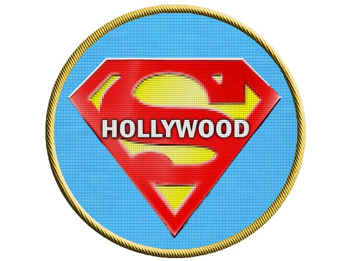 Hollywood Superman Commemorative Patch