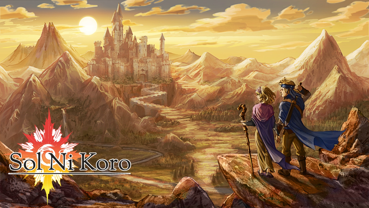 Sol Ni Koro A Handcrafted 3d Rpg With 2d Pixel Sprites By