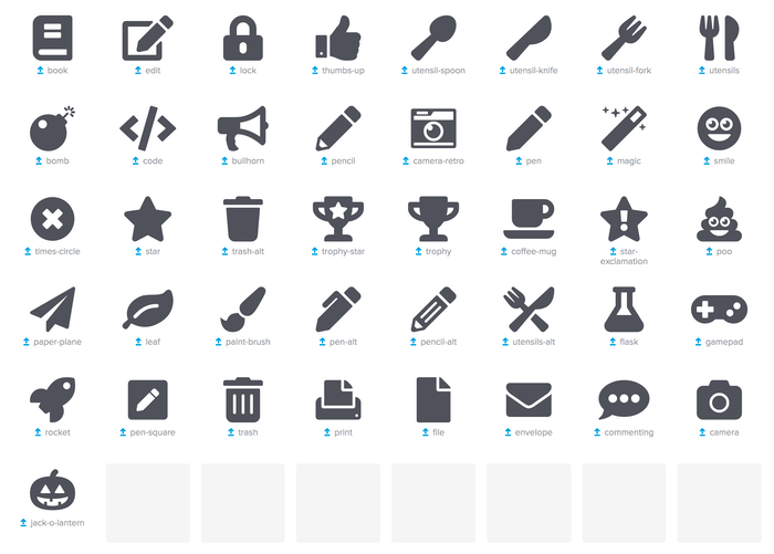 font awesome 5 icons