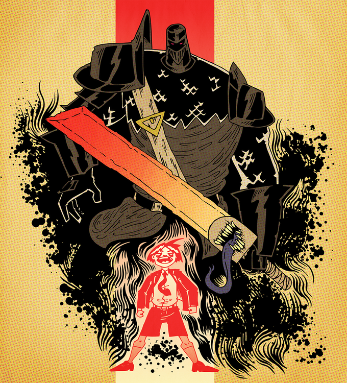 The Black Knight, written by Max Weinstein, illustrated by Malcolm Johnson