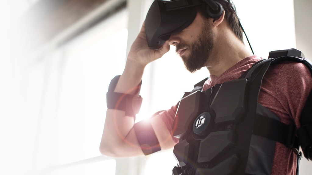 Hardlight VR Suit - Don't Just Play the Game. Feel it. project video thumbnail