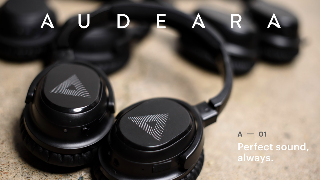 Audeara: headphones that deliver perfect sound, always. project video thumbnail