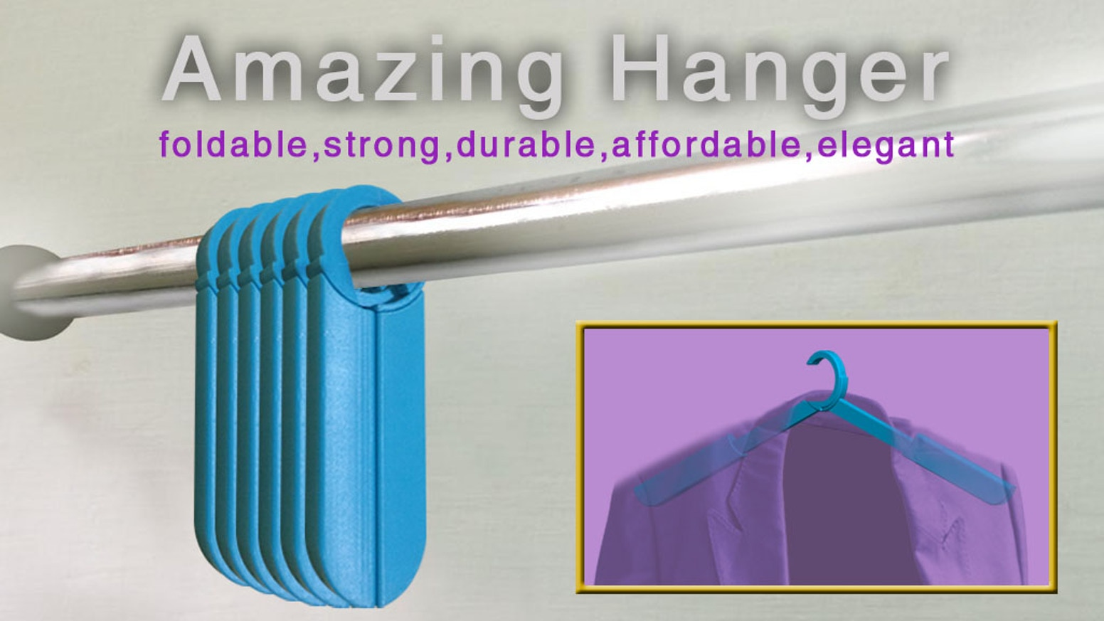 Unconventional hangers everyone loves to carry on the go! 9fe6e72442ac1