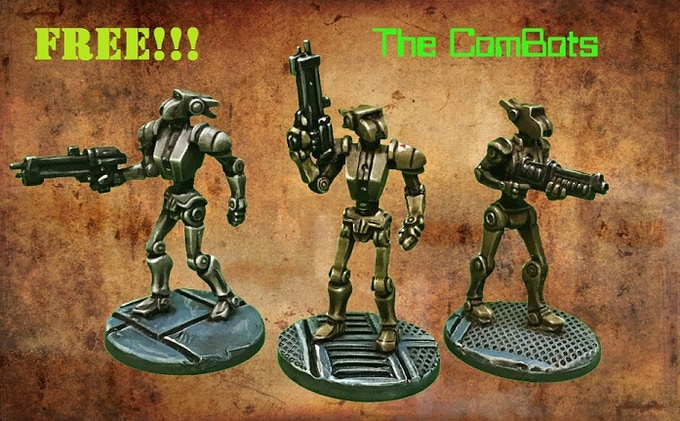 Squad of Three Combots