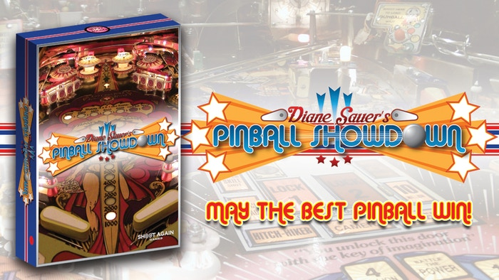 A game where you play from the pinball's point of view. It's really not as easy as it looks! Plays in 30 minutes for 2 to 4 players.