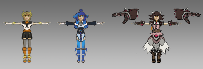 Ray's Different Planned Dimension Outfits