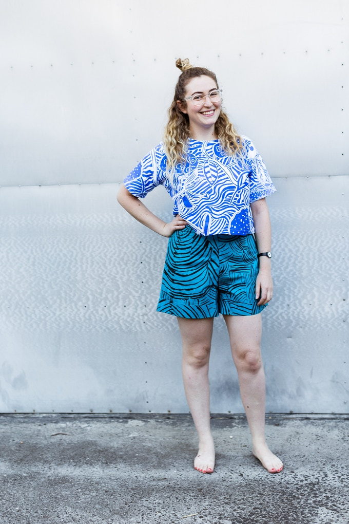 box top and shorts: mix and match all the styles why not!