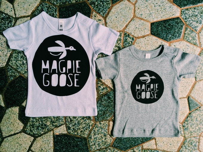 a tiny t-shirt for a tiny loved one (available up to size 18-24 months)