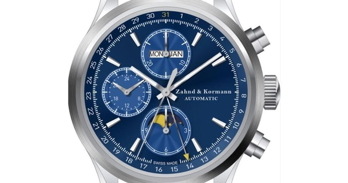 Chronograph - Second Counter, Minute Counter, Hour Counter