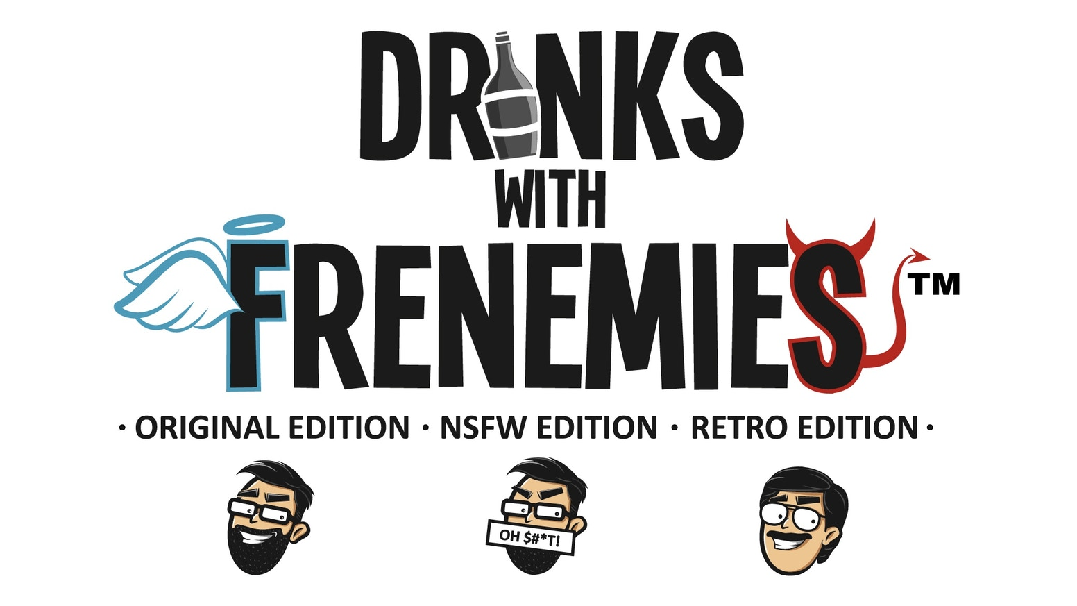 The party card game of memory, mini-games, luck & skill, strategy & take that and of course drinking! Do you worst and get rewarded!