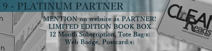WE NEED YOU - to partner with us! Help us get this exciting venture off the ground! PLUS receive the LIMITED EDITION book box and TWELVE monthly book boxes, too!